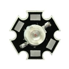 Yellow High Power Star LED Lamp Light 3W 3 Watt