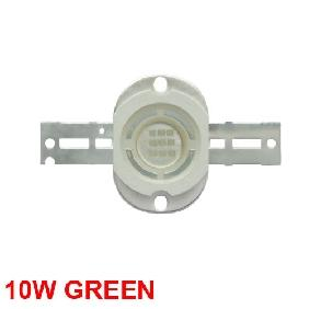 Wholesale 10W Green High Power LED Round Version