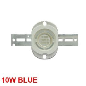 Wholesale 10W Blue High Power LED Round Version