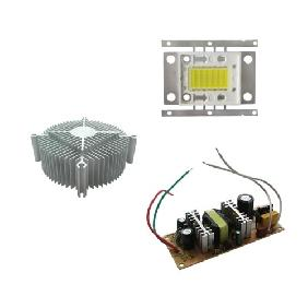 1x 30W White LED + 1x Driver AC 100V-264V + 1x Heat Sink