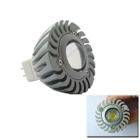 Wholesale 1W White High Power LED Bulb Spot Light 12V MR16