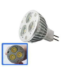 3x1W Warm White LED Bulb Spotlight 3W 12V MR16