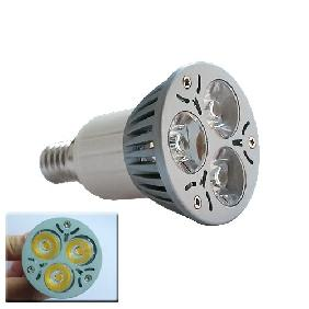 Wholesale 3x1W Warm White High Power LED Light 3W Bulb Lamp E14