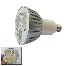 Wholesale 3*1W White High Power LED Bulb 3W Spot Light E11