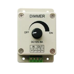 DC 12V-24V 8A Led Dimmer Adjustable Brightness Controller