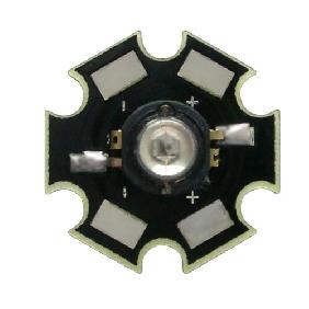 Wholesale Green High Power Star LED Lamp Light 3W 3 Watt