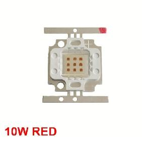 10W Red High Power LED Square Version