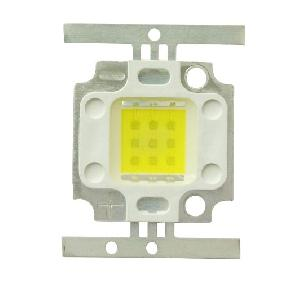 10W White High Power LED Square Version