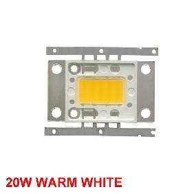 20W Warm White High Power LED Rectangular Shape