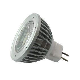 3W White LED Bulb Lamp Spot Light 12V MR16