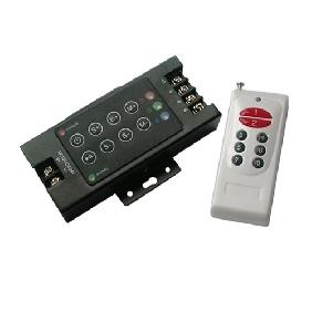 Wholesale 8 Keys Wireless RF Controller for RGB Led Light DC 12V-24V