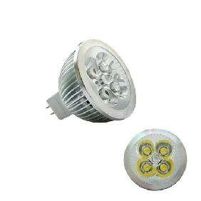 4W White 4x1W LED Bulb Spotlight Lamp MR16 12V