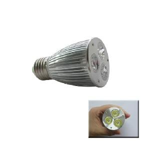 3-3W 9W White High Power LED Light Lamp Spot Bulb E27