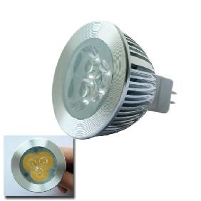 3*1W Warm White 3W LED Light Bulb MR16 12V NEW