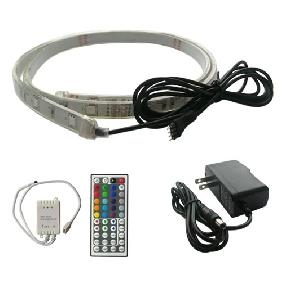 Wholesale 100cm RGB FLASH LED Strip Underwater Fountain Aquarium Light