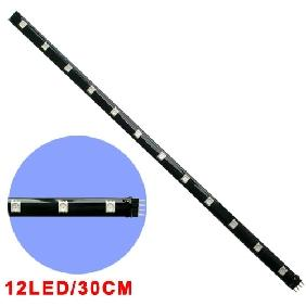 30CM 5050/5060 SMD RGB 12 LED LIGHT STRIP 12V DC WATERPROOF