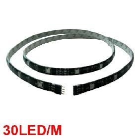 Wholesale 5050/5060 RGB FLASH SMD LED Strip 1M Waterproof Black Back