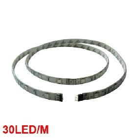 Wholesale 5050/5060 RGB FLASH SMD LED Strip Multicolor Light 100CM 12V (30 LED/M)