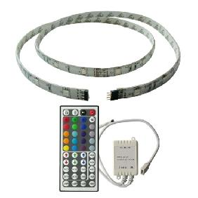 1M RGB FLASH LED Light Strip 44key DIY Remote Control