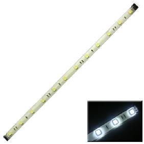 WHITE 5050/5060 SMD 12 LED LIGHT STRIP WATERPROOF 30CM 12V