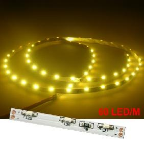 Wholesale 1m White/Warm White/Red/Green/Blue/Yellow 335 SMD 60 LED Flexible Side Light Strip 12V