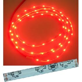 100cm Red 335 SMD LED Flexible Strip Side View Light 12V DC (60 LED/M)