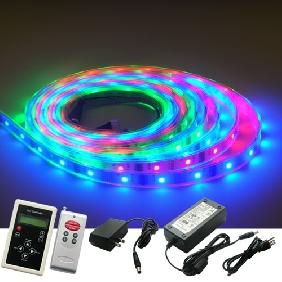 5M RGB Flash LED Strip Dream Color Light 83 Changes Kit