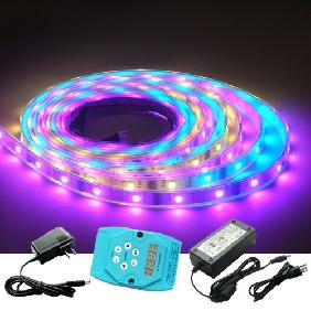 Wholesale 5M RGB Flash LED Strip Dream Color Light Ready for Use