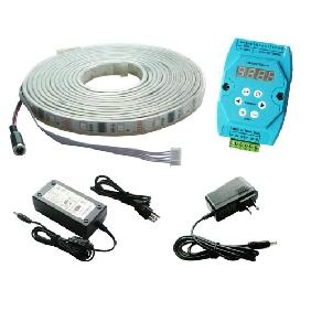 5M RGB Flash LED Strip Dream Color Light DMX Controller