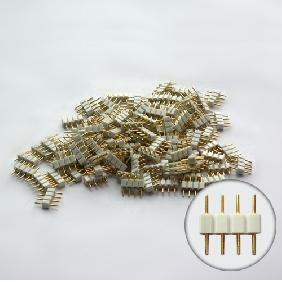 Male 4-Pins Connectors for Connecting 5050 LED Light Strips