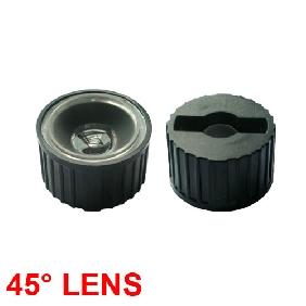 Wholesale 45 Deg Lens Reflector Collimator for Luxeon LED