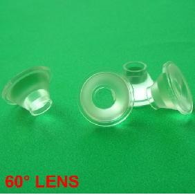 60 Degrees Lens Reflector Collimator for Cree XR-E P4 Q5 LED