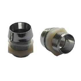 Wholesale 10mm LED Mount Holder Chromed with Spring Washer, Nut and Plastic Cup