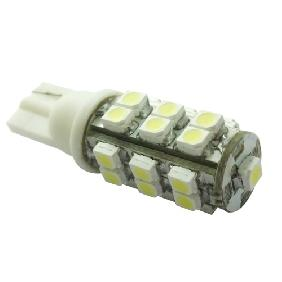 T10 168 194 BULB 25 SMD 3528 WEDGE CAR WHITE LED PARK LIGHT
