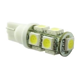 T10 194 BULB 9 SMD WEDGE CAR WHITE LED Bulb LIGHT