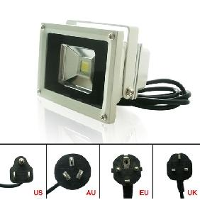 Wholesale 10W White High Power Led Lamp Flood Light Waterproof for Outdoor Use
