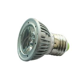 3W White LED Bulb Lamp Spot Light E27