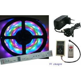 Wholesale 5M 5050 RGB LED Strip Dream-Color Light 94 Changes Kit