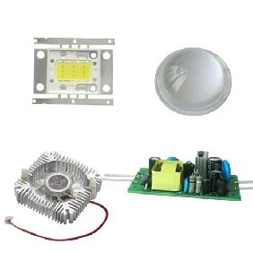 DIY Kit 10W Warm White LED + Lens + Driver + Heat Sink