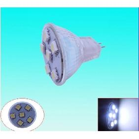 Wholesale Warm White 5050 SMD 6 LED Spot Light Bulb Lamp 12V MR11
