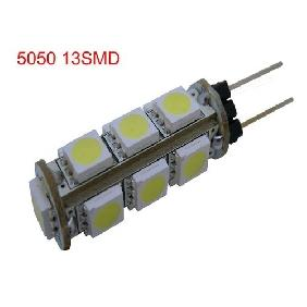 Wholesale G4 13 SMD LED 5050 White Light Bulbs Lamp 2.6W 12V