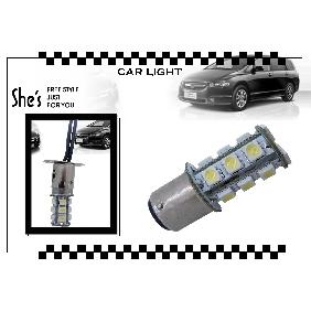 1157 BAY15D 5050 SMD 18-LED White Tail Light Brake Bulb 12V