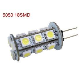 Wholesale G4 18 SMD LED 5050 White Light Bulbs Lamp 3.6W 12V
