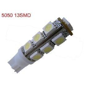 T10 168 194 13-LED HID White Wedge Bulb Park Light