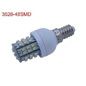 Wholesale E14 3528 SMD 48-LED Cool White Bulb Lamp Spot Light