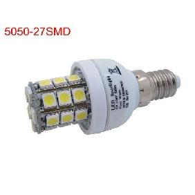 Wholesale E14/E27/G9/GU10 3W Cool White/Warm White 5050 SMD 27 LED Light Bulbs Lamp 432LM