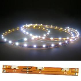 Wholesale Cool White/Warm White/Red/Green/Blue/Yellow Flexible Strip Side View Light 100cm 60 LEDs 12V Waterproof