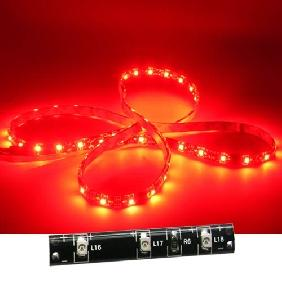 500cm 3528 Red 300 LED Light Strip Flexible 12V (60 LED/M)