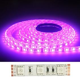 500CM 5050/5060 RGB FLASH SMD LED Light Strip Multicolor Light 12V (60 LED/M)