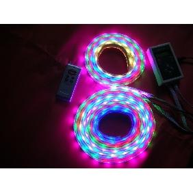 25 Meters Dream-Color 5050 RGB Flash LED Strip Light Plug & Play